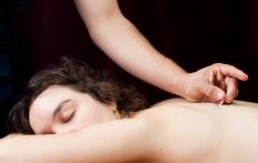 An integrative medicine program may include courses in accupuncture.