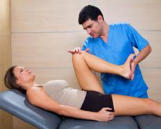 A patient with chronic synovitis of the knee may need physical therapy to reduce strain on the joint.
