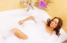 Taking a hot bath may help fight a skin abscess by increasing circulation within the body.