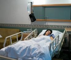 After a lumpectomy, a patient will spend a night or two in the hospital.