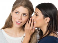 Gossip can contribute to psychological manipulation.