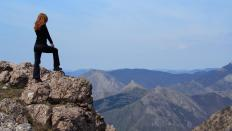 Hypnosis treatments are a possible way to get rid of some phobias, such as a fear of heights.