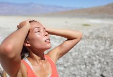 Dehydration may cause feelings of weakness.