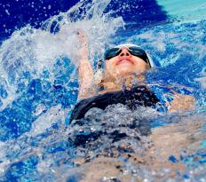 Intermediate swimming classes will teach the backstroke.