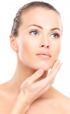 Organic skin care products can greatly improve the appearance of the skin over time.