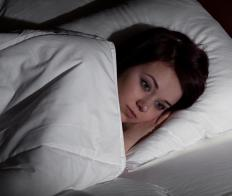 Insomnia is sometimes caused by negative thoughts about one's sleep patterns.