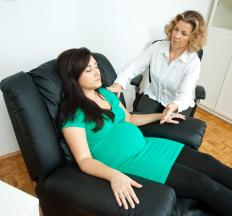 Hypnosis may help treat a process addiction.