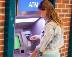 Reloadable debit cards can be used at ATMs around the world.