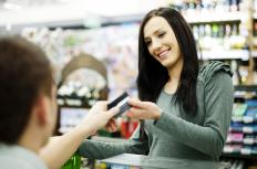 Retailers open credit card merchant accounts so that their customers can pay with credit.