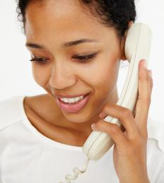 A telecommunications provider offers a range of land line solutions.