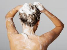Using a semi-permanent dye for coloring grey hair will guarantee coverage for only about 8 shampoos.