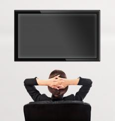 Size of the television and surrounding space are important factors when deciding on a TV wall mount.