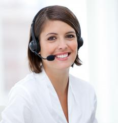 Medical answering service work may involve employment in a doctor's office or medical center.
