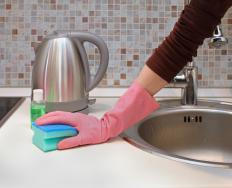 People who obsessively clean may have OCD.