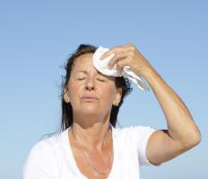Having cold washcloths on hand can help alleviate some of the discomfort of hot flashes.