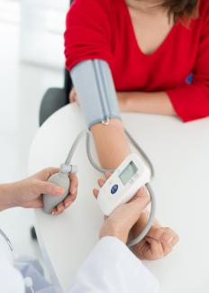 High blood pressure increases the risk of coronary calcification, so patients are often instructed to monitor it closely.