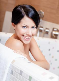 Some shampoos and soaps are specially formulated for use in hard water.