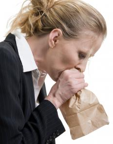 Hyperventilation is sometimes treated by breathing into a paper bag.