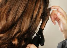 A curling iron with a small barrel is ideal for creating small, tight curls.