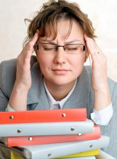 Dizziness may be caused by muscular weakness.
