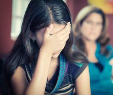 Young people who are being abused by a parent at home are often unaware of where to find help.
