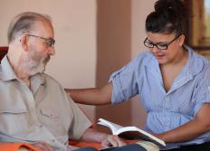 Home care allows seniors to live in their own home and receive periodic visits from care workers.
