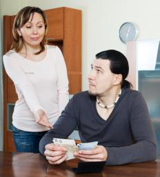 Codependent behavior can be financially driven.