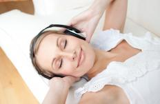 Listening to calming music might induce an alpha state.