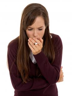 Many smokers experience uncontrollable coughing due to bronchitis.