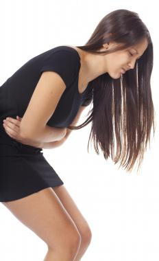 Stomach cramps are a common symptom of peritonitis.