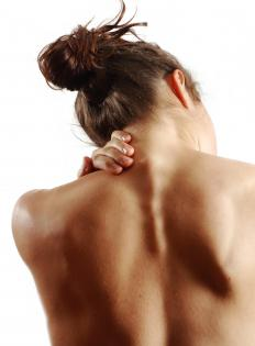 Some people who suffer from chronic neck and back pain benefit from using overdoor traction techniques.