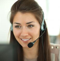 Telephone sales representatives use telemarketing to sell products and services.