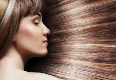 Using placenta for hair may provide a healthy shine to an individual's hair.