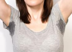 Elevated temperatures can cause sweating.
