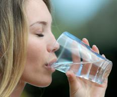 Water filters may need periodic cleaning or replacement to ensure healthy drinking water.