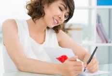 A homeowner may send out handwritten invitations to friends and family for an open house party.