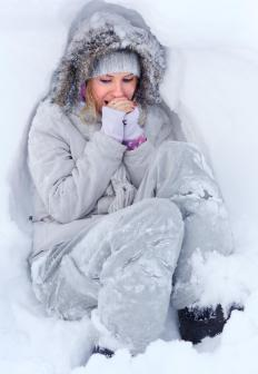 """Go blue"" is an expression referring to a person who is getting extremely cold."