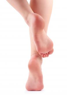 Nerve damage may cause burning feet.