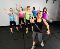 Types of exercise that may be included in a body sculpting program include dance steps.