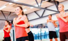 Many gyms offer free fitness classes to members.
