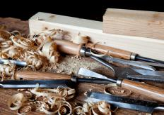 Simple woodworking jigs can be made of wood.