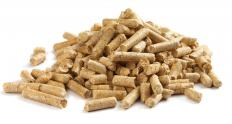 Pellet stoves burn wood pellets.