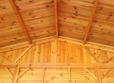 Microlam lumber is often used for beams and joists in construction.
