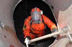 People exposed to formaldehyde on their jobs should wear protective masks.