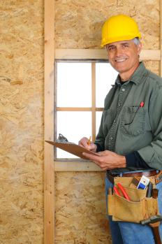 A contractors license may be for general construction or a more specialized field.