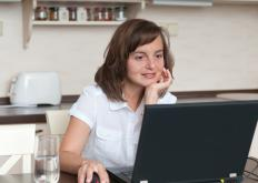 Many work from home jobs, like transcription or freelance writing, can be done from a laptop.