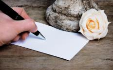 Blank place cards can be handwritten or printed in calligraphy.