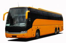 Drivers must obtain a class B license to drive coaches or buses.