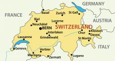 High German is spoken in regions of Switzerland.