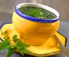 Nettle leaf extract may be used in soups.